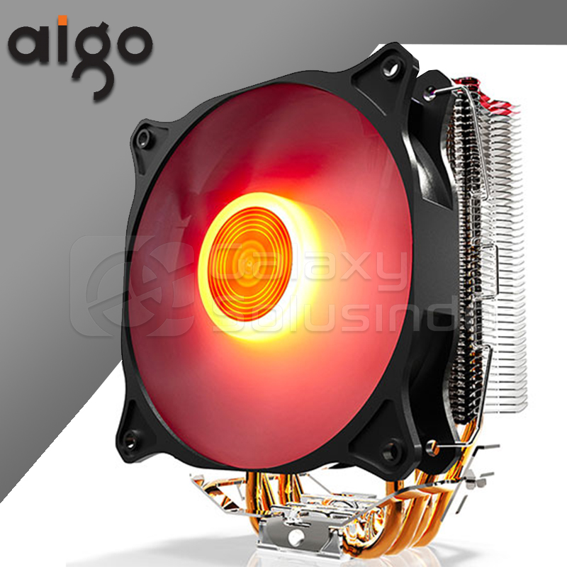 AIGO E4 Red Led CPU Cooler