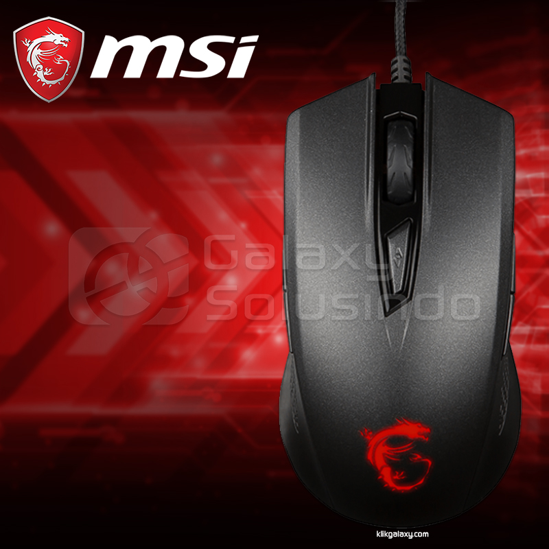 MSI Clutch GM40 Gaming Mouse Black