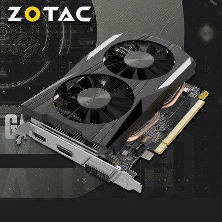 ZOTAC GeForce GTX 1050 Ti OC Edition 4GD5