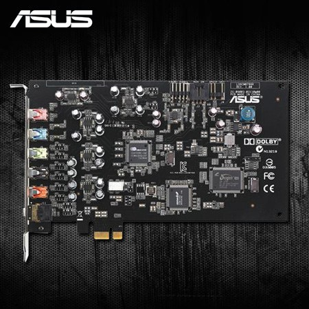 ASUS Xonar D-KARAX 7.1 Audio Card (PCI Express)