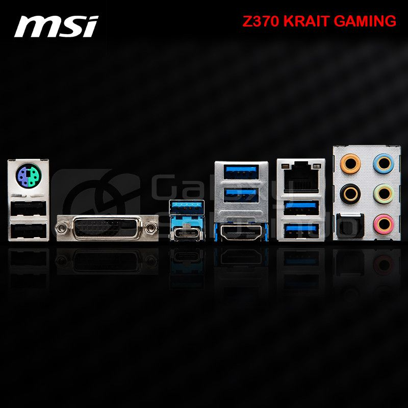 MSI Z370 KRAIT GAMING - CoffeeLake