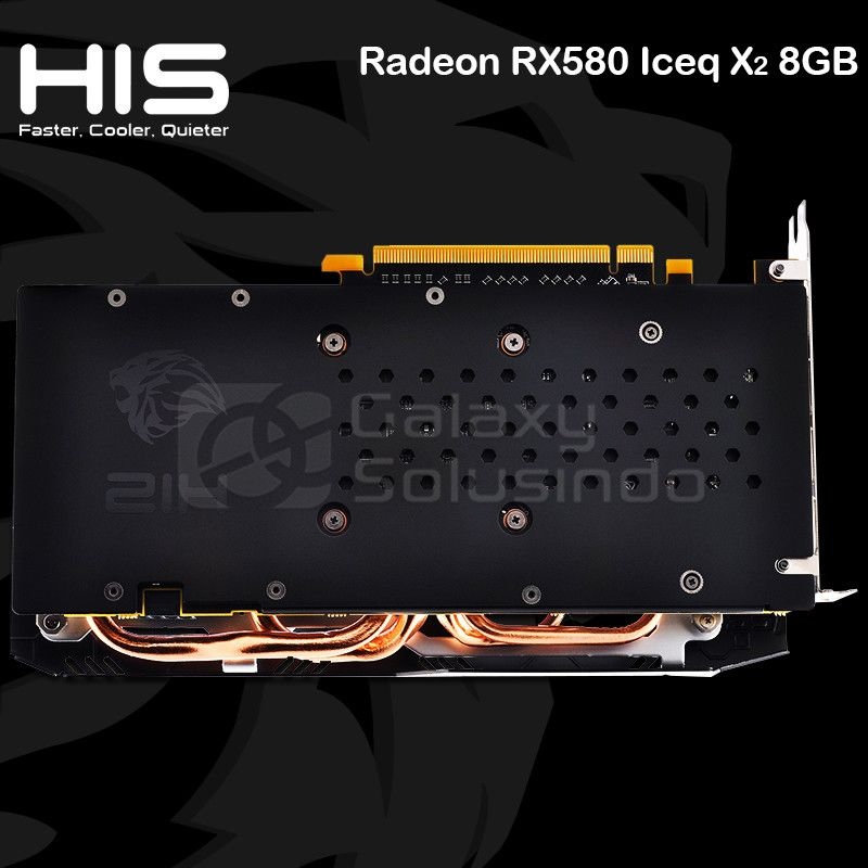 HIS Radeon RX 580 ICEQ X2 OC 8GB GDDR5