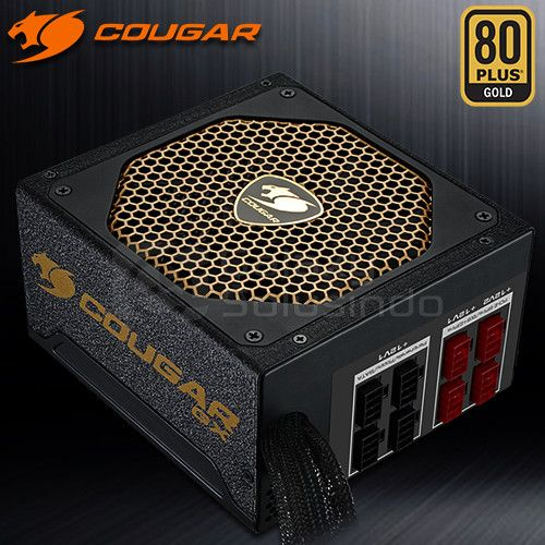 COUGAR GX 800W 80+ Gold Sertification