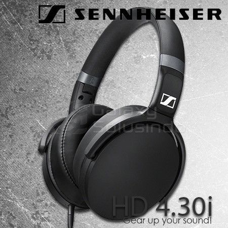 Sennheiser HD 4.30i - Black - optimized for IOS