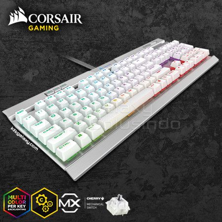 Corsair K70 Rapidfire RGB MK.2 SE Mechanical Gaming Keyboard - Cherry MX RGB Speed