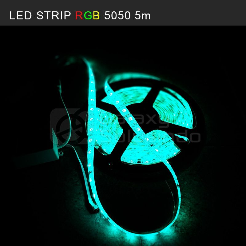 LED Strip RGB 5M + Mini WiFi Controller (SMD 5050)