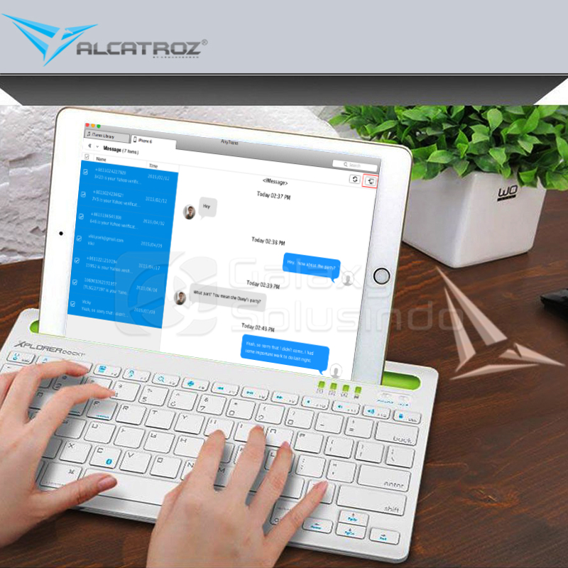 ALCATROZ EXPLORER DOCK 1 Bluetooth Keyboard