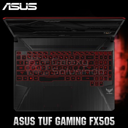 ASUS TUF GAMING FX505GD-I5501T - Red Fusion