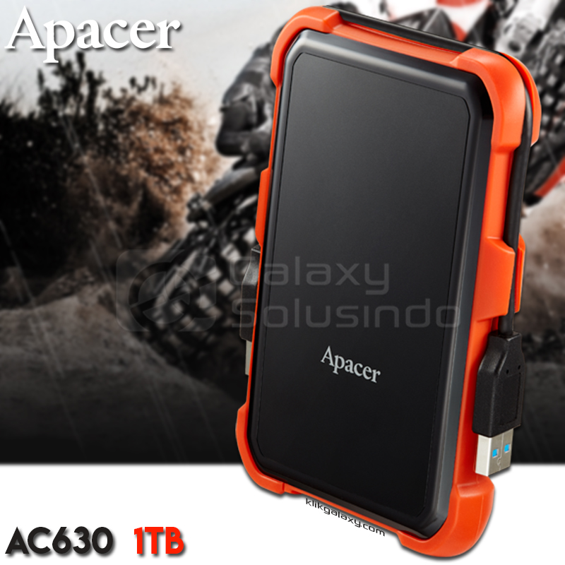 Apacer AC630 1TB Military Grade Shockproof Portable Hard Drive