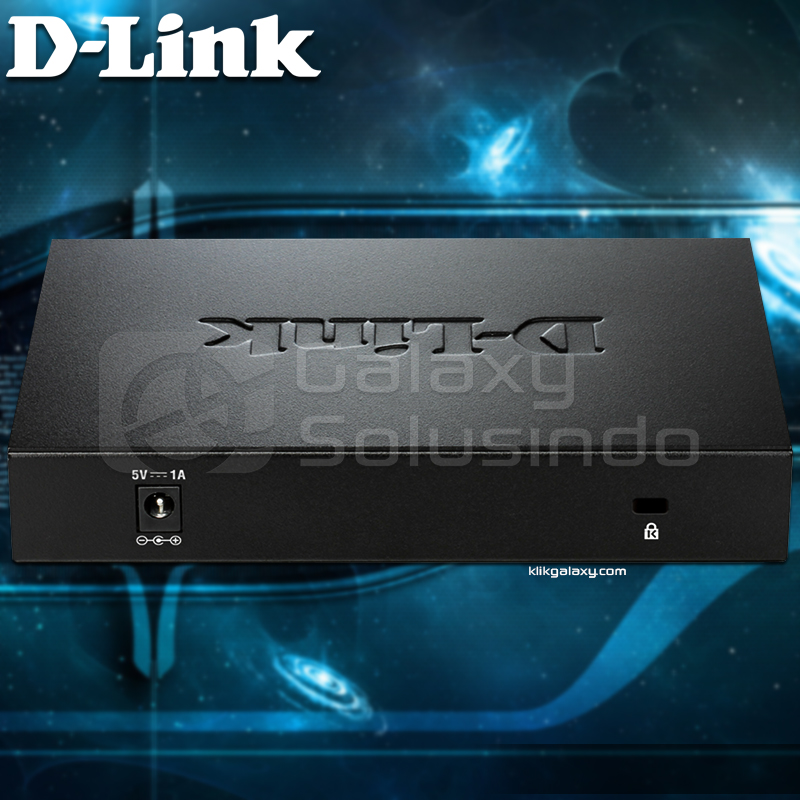 D-LINK DGS-108 8‑Port Gigabit Unmanaged Desktop Switch