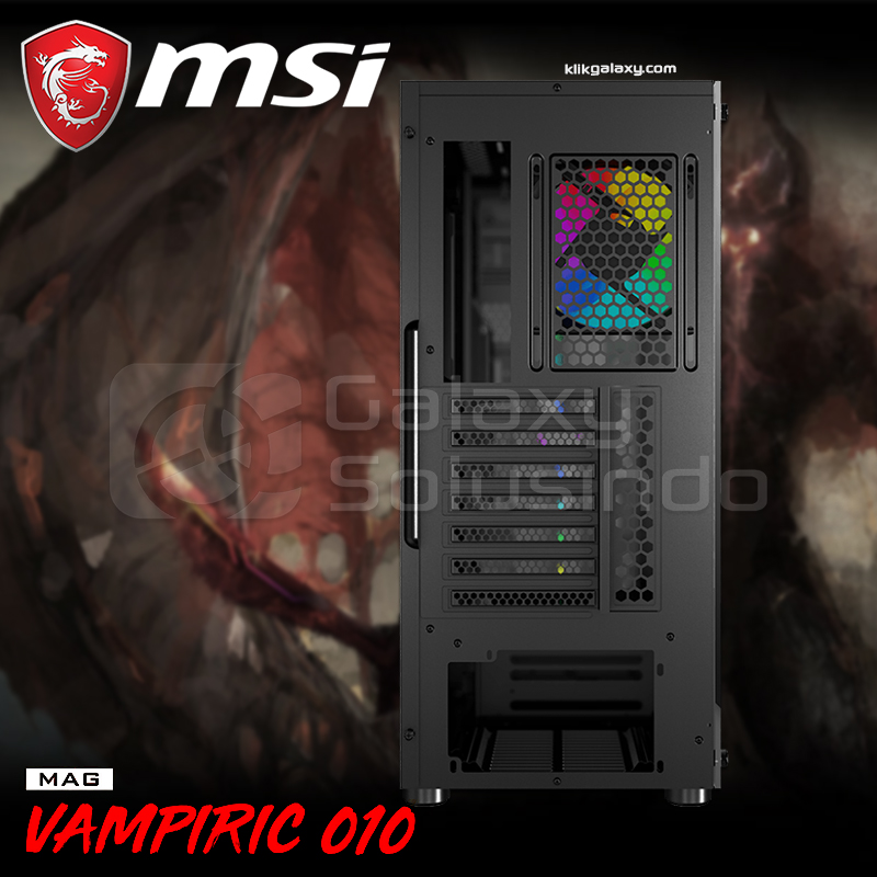 MSI MAG VAMPIRIC 010 Tempered Glass Gaming Case