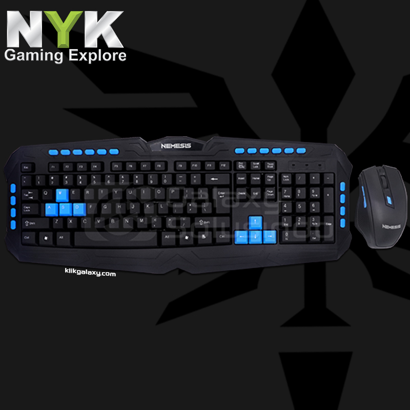 NYK WS-500 Gladiator Gaming Keyboard + Mouse Combo