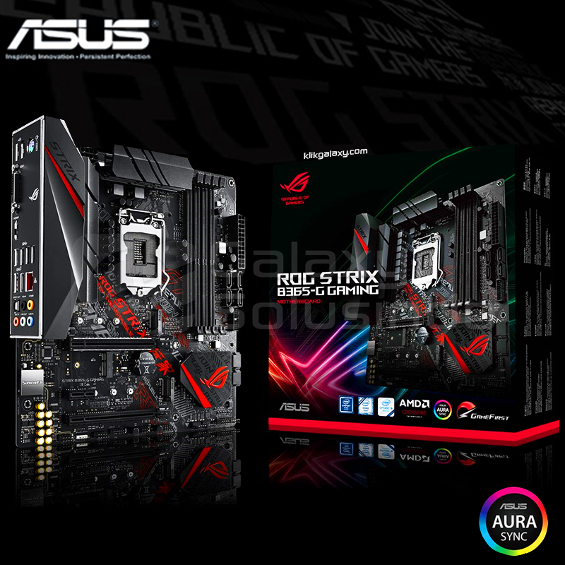 ASUS ROG STRIX B365-G Gaming - CoffeeLake