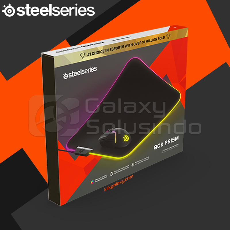 Steelseries QcK Prism Cloth M / Medium Gaming Mouse Pad