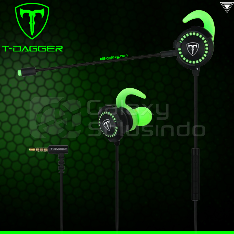 T-DAGGER Alps Gaming Earbuds - Gaming Headset With Mic