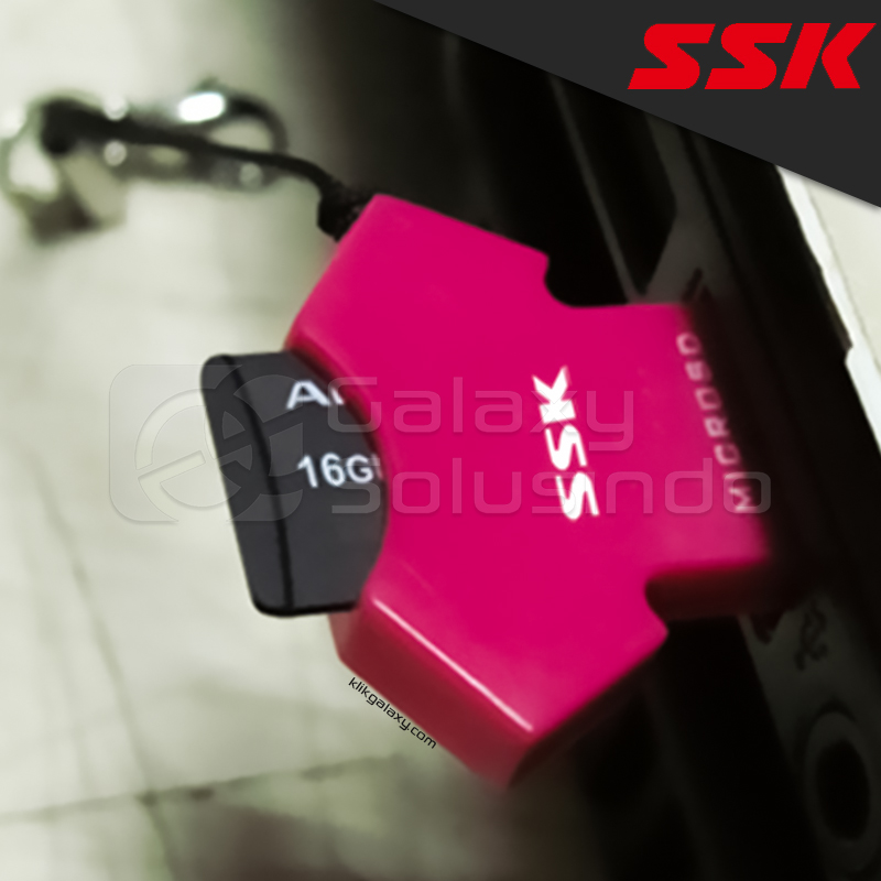 Card Reader SSK SCRS052 T-shirt Shaped TF Micro SD USB 2.0