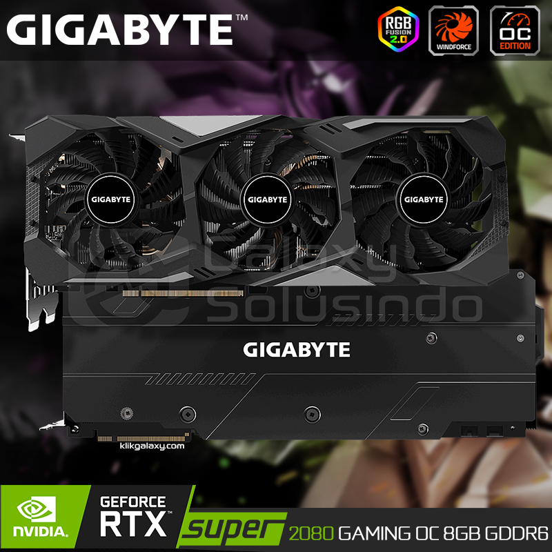 GIGABYTE GeForce RTX 2080 SUPER GAMING OC 8GB GDDR6