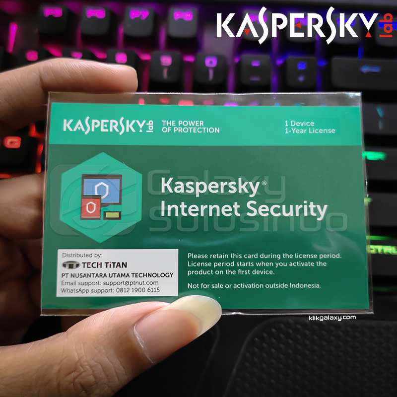 Kaspersky Internet Security - 1 Devices 1 Year