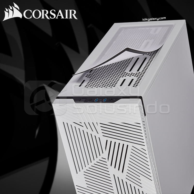 Corsair Carbide Series® 275R AIRFLOW Tempered Glass Gaming Case - White