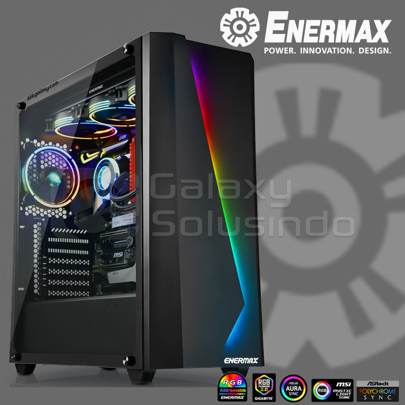 ENERMAX MK50 MAKASHI ARGB Tempered Gaming Case