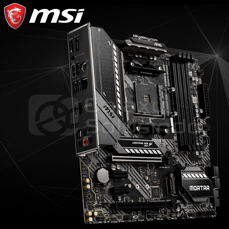 MSI B550M MORTAR - AM4