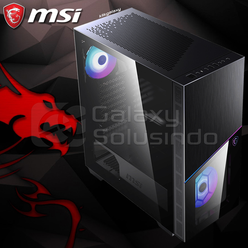 MSI MPG SEKIRA 100R Tempered Glass Gaming Case