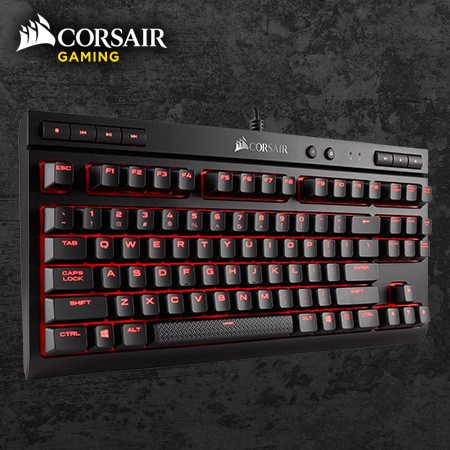 Corsair K63 Compact Mechanical Gaming Keyboard - Cherry MX Red