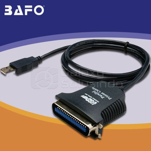 BAFO USB To PARALLER Printer Cable