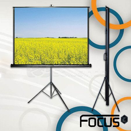 Tripod Screen Focus 96 inch