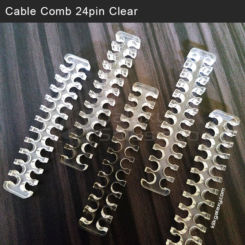 Cable Comb ATX 24 Pin - Clear