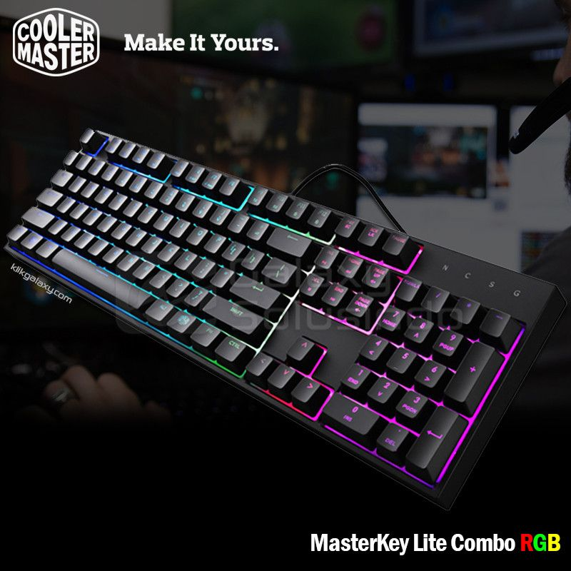 Cooler Master MasterKey Lite RGB - Keyboard Mouse Combo