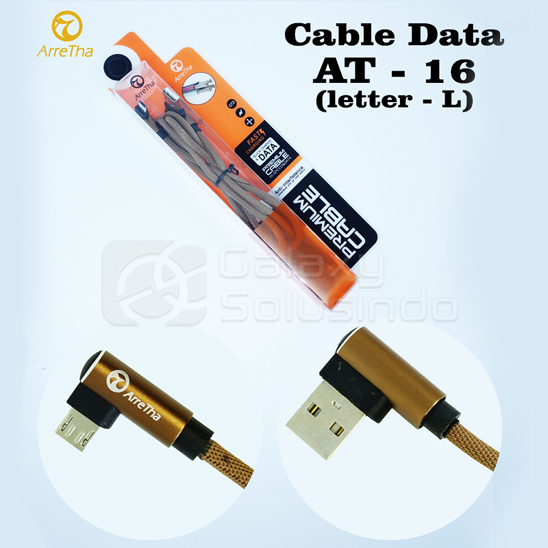 ARRETHA AT16 Kabel Data USB (Gold)