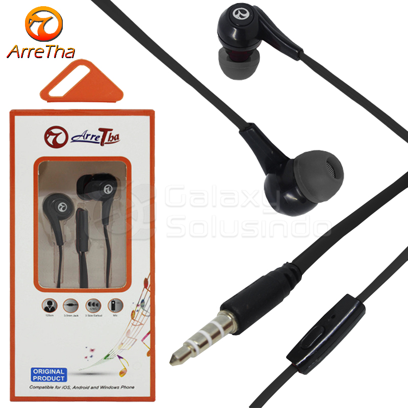 ARRETHA Earphone Black