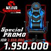 MARVO CH-106 SCORPION Gaming Chair - Blue