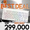 Digital Alliance DA Gaming Keyboard Meca Fighter Ice RGB TKL Mechanical Keyboard - Red Switch