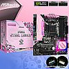 Asrock B450M Steel Legend AM4 Addressable RGB support - Pink Edition