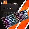 Digital Alliance DA Meca Warrior X RGB TKL Gaming Keyboard - Orange Switch