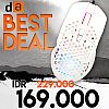 Digital Alliance Luna Honey Gaming Mouse - White