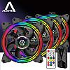 ALSEYE HALO 5.0 ARGB 120mm 4 in 1 FAN CASE
